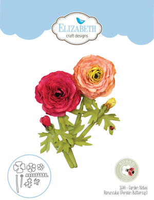 Elizabeth Craft Designs - Dies - Ranunculus