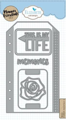 Elizabeth Craft Designs - Dies - Planner Essentials - 6