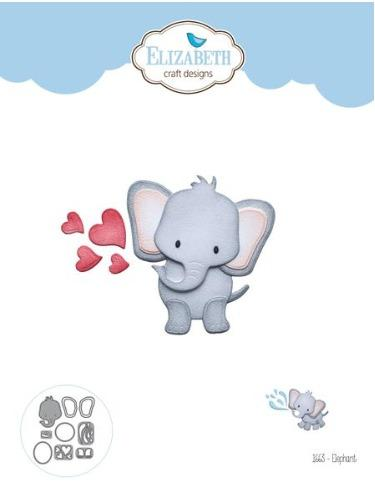 Elizabeth Craft Designs - Dies - Elephant