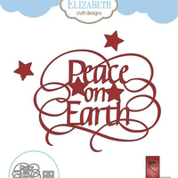 Elizabeth Craft Designs - Dies - Peace On Earth