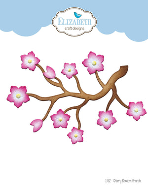 Elizabeth Craft Designs - Dies - Cherry Blossom Branch