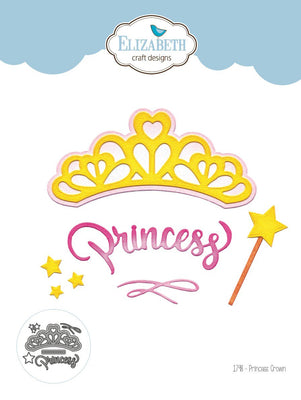 Elizabeth Craft Designs - Dies - Princess Crown