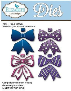 Elizabeth Craft Designs - Dies - Four Bows