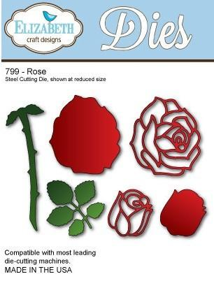 Elizabeth Craft Designs - Dies - Rose