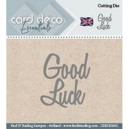 Card Deco - Dies - Good Luck