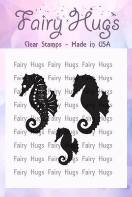 Fairy Hugs Stamps - Seahorses