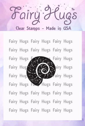 Fairy Hugs Stamps - Mini Nautilus Shell
