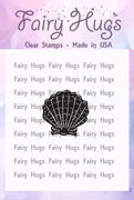 Fairy Hugs Stamps - Mini Scallop Shell