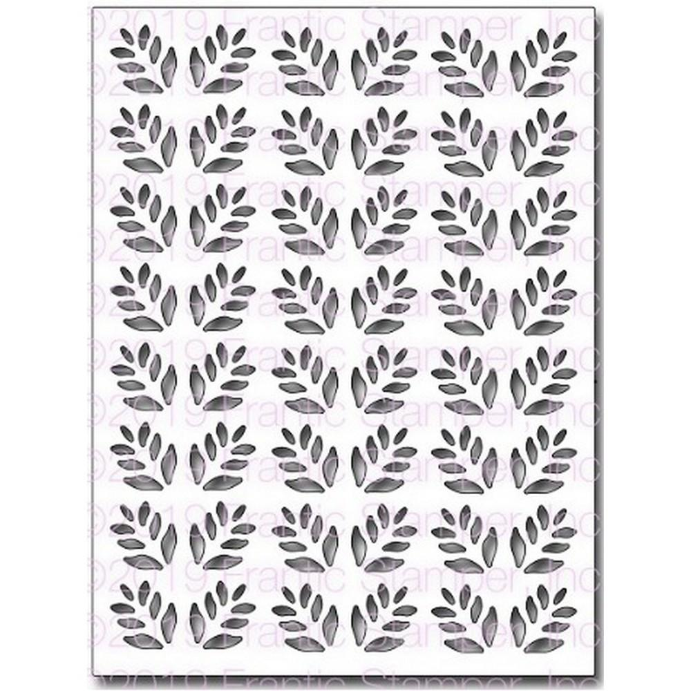 Frantic Stamper - Dies - Leafy Card Panel