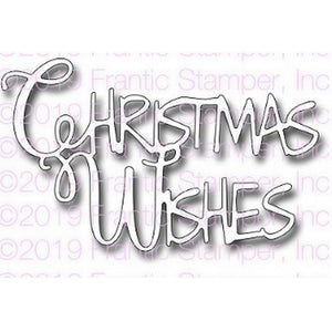 Frantic Stamper - Dies - Christmas Wishes