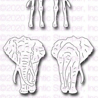 Frantic Stamper - Dies - Front & Back Savanna Animals