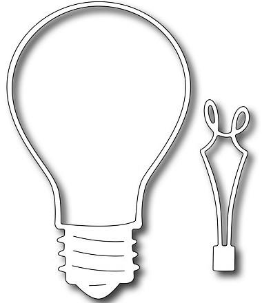 Frantic Stamper - Dies  - Lightbulb