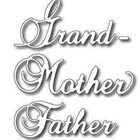 Frantic Stamper - Dies - Grand/Mother/Father