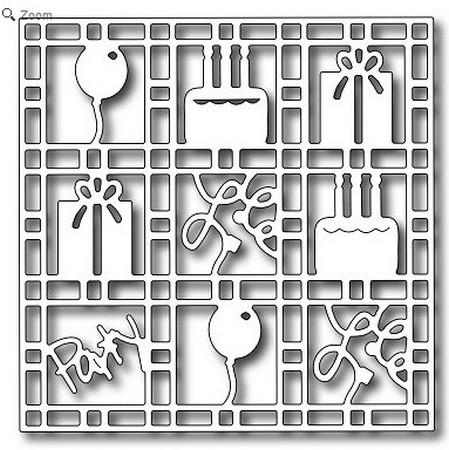 Frantic Stamper - Dies - Birthday Grid