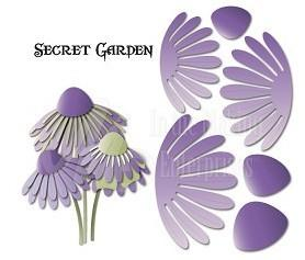 Dee's Distinctively Dies - Secret Garden Flower 2
