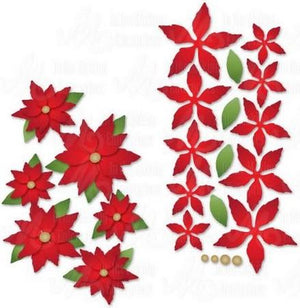Dee's Distinctively Dies - Mini Poinsettias