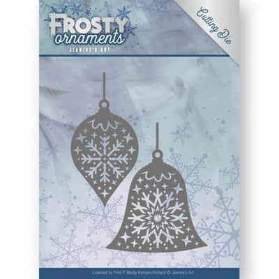 Jeanine's Art - Dies - Frosty Ornaments - Christmas Baubles