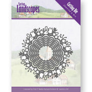 Jeanine's Art - Dies - Spring Landscapes - Spring Scalloped Circle
