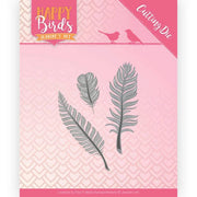 Jeanine's Art - Dies - Happy Birds Collection - Trio Of Feathers