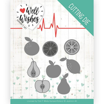 Jeanine's Art - Dies - Well Wishes - Fruits