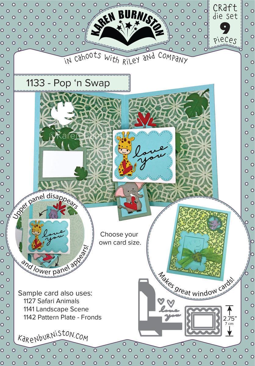 Karen Burniston - Dies - Pop 'n Swap Pop-Up