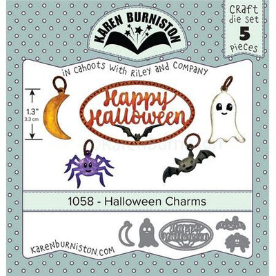 Karen Burniston - Dies - Halloween Charms