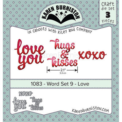 Karen Burniston - Dies - Word Set - Love