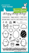 Lawn Fawn - Chirpy Chirp Stamps