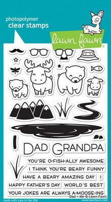 Lawn Fawn - Dad + Me Stamps