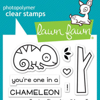 Lawn Fawn - One In A Chameleon Stamps
