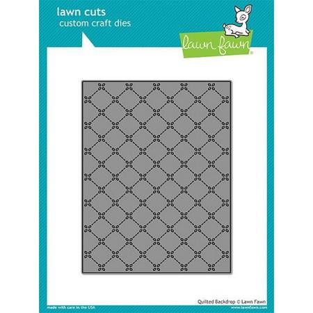 Lawn Fawn - Quilted Backdrop Dies