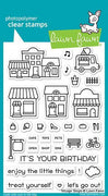 Lawn Fawn - Village Shops Stamps