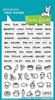 Lawn Fawn - Plan On It: Meal Planning Stamps
