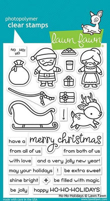 Lawn Fawn - Ho-Ho Holidays Stamps