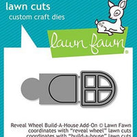 Lawn Fawn - Reveal Wheel Build-A-House Add-On Dies