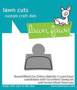 Lawn Fawn - Reveal Wheel Car Critters Add-On Dies