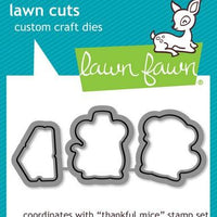 Lawn Fawn - Thankful Mice Dies