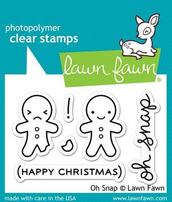 Lawn Fawn - Oh Snap Stamps
