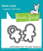 Lawn Fawn - Oh Snap Dies