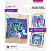 Gemini - Create-A-Card Dies - Interchangeable Elegant Frame