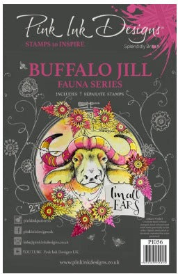 Pink Ink Designs - Stamps - Buffalo Jill