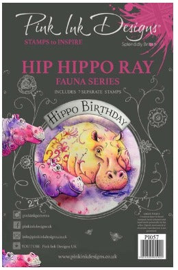 Pink Ink Designs - Stamps - Hip Hippo - Ray