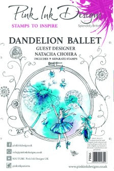 Pink Ink Designs - Stamps - Dandelion Ballet