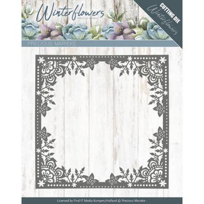 Precious Marieke - Dies - Winter Flowers - Ice Flower Frame