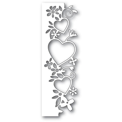 Poppystamps - Dies - Wild At Heart Border