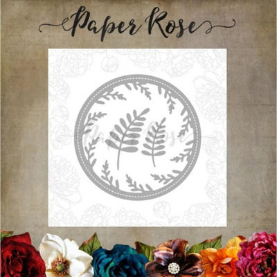 Paper Rose - Dies - Wreath Frame