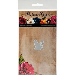 Paper Rose - Dies - Sittign Cat Small