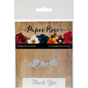 Paper Rose - Dies - Thank You