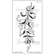 Sweet Poppy - Stencils - Twisted Vines