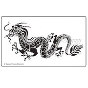 Sweet Poppy - Stencils - Dragon